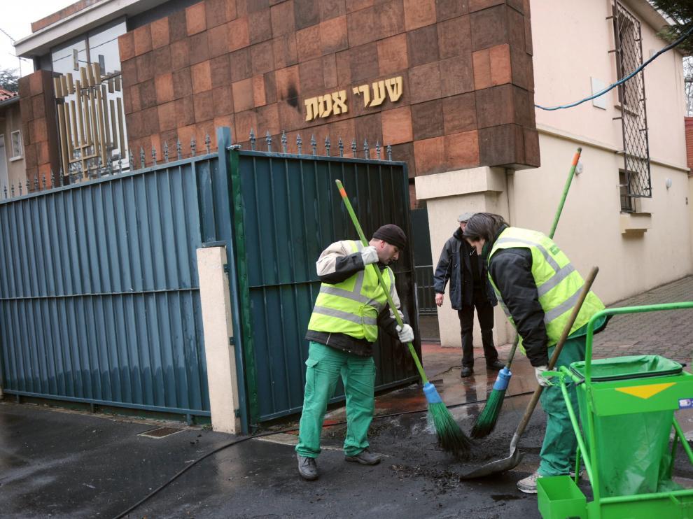 Ataque contra una sinagoga