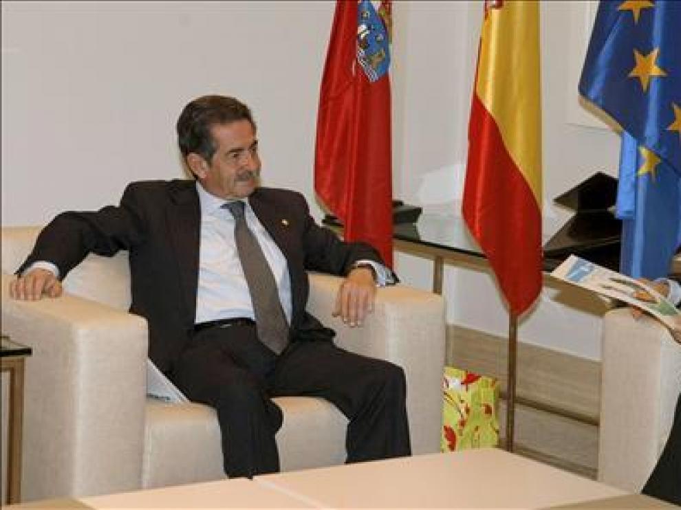 Miguel Ángel Revilla y José Luis Rodríguez Zapatero