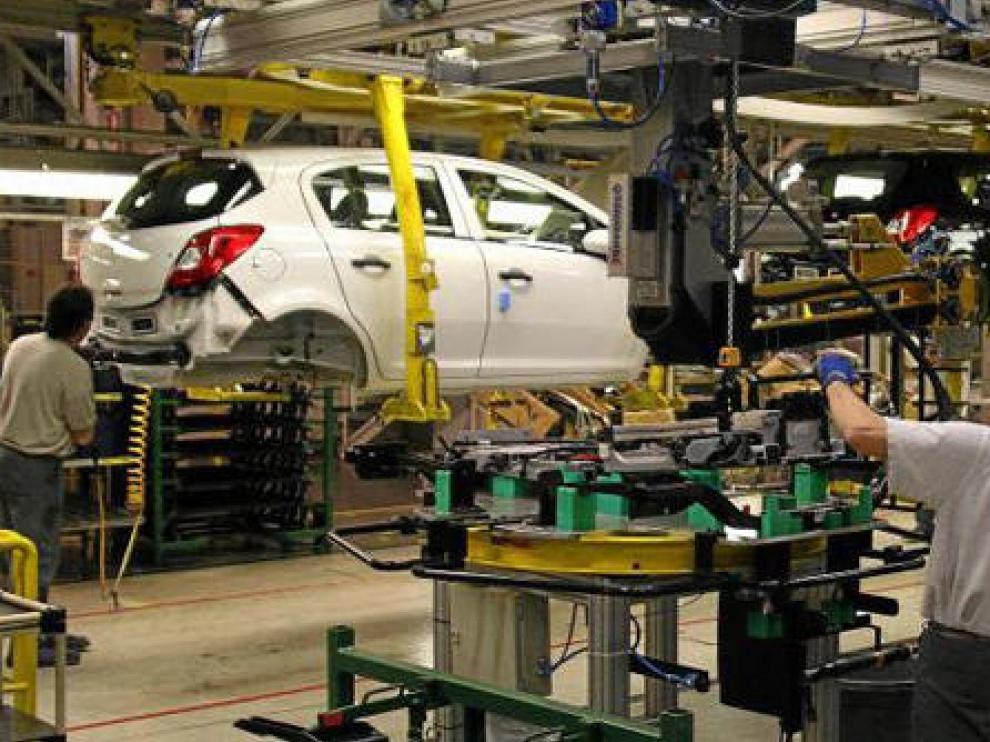 Imagen de archivo de la planta de General Motors en Figueruelas