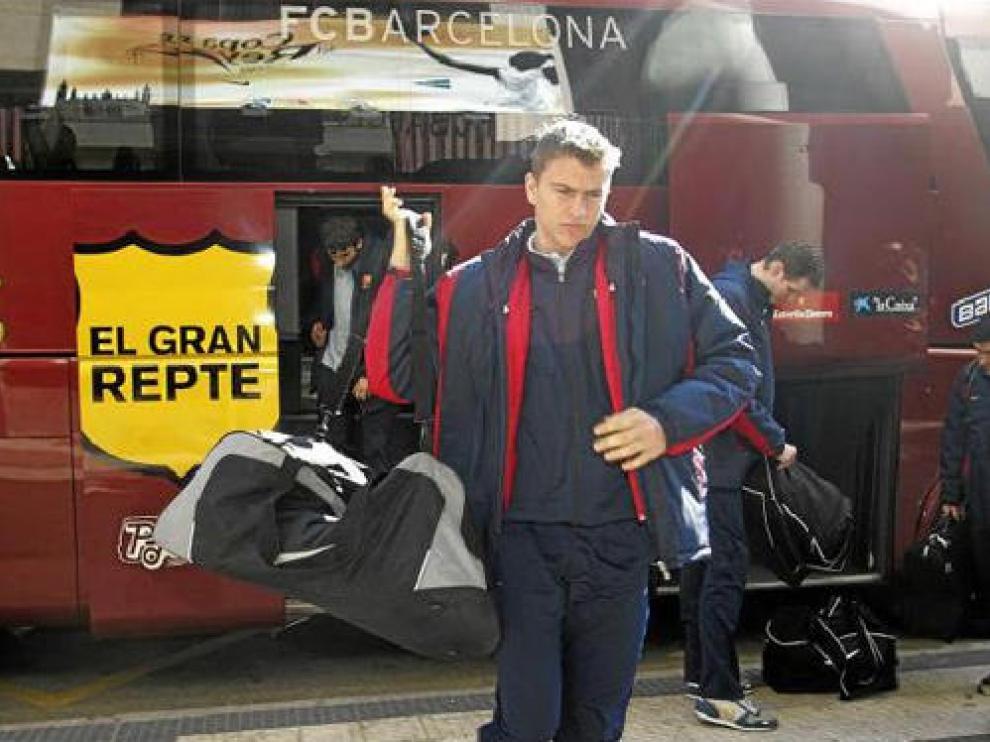 Andrija Zizic ya estuvo en la Copa del Rey de 2005 celebrada en Zaragoza con el Barça