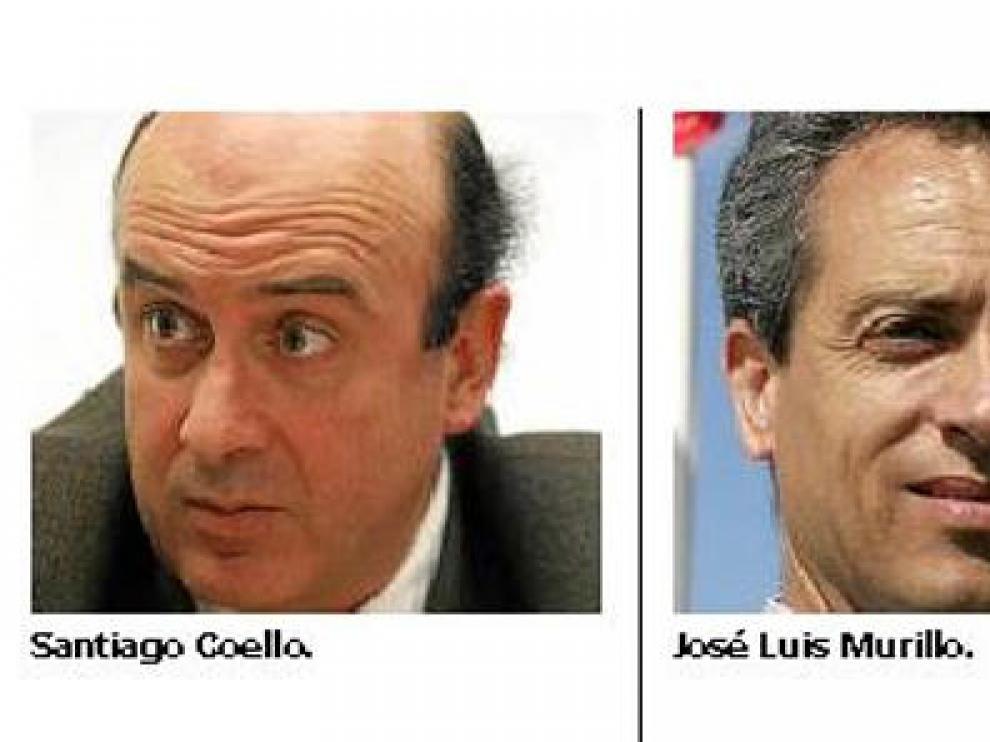Santiago Coello y José Luis Murillo