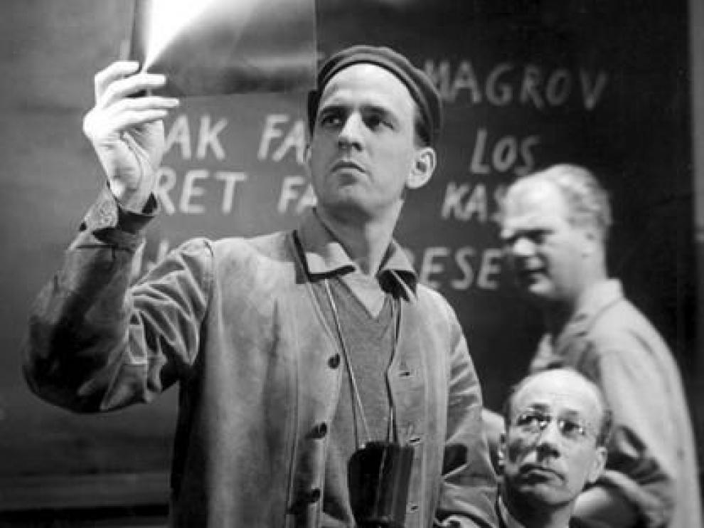 El director de cine Ingmar Bergman