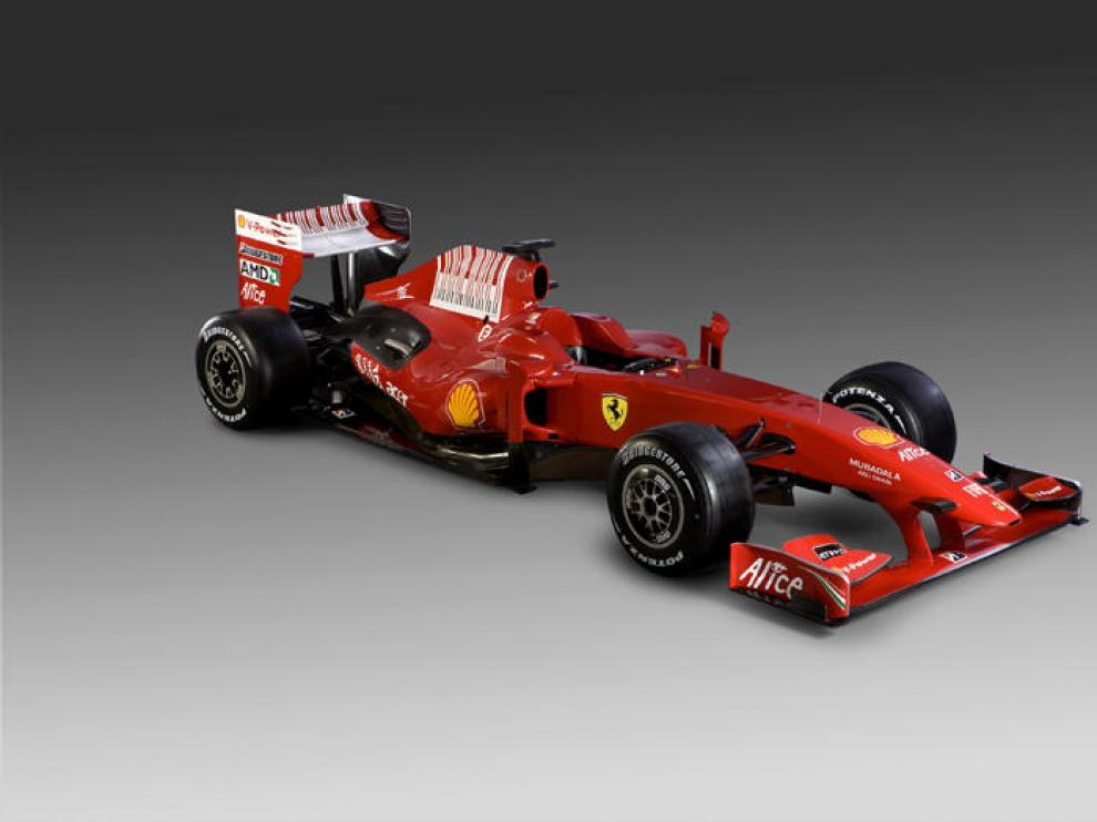 El nuevo Ferrari F60