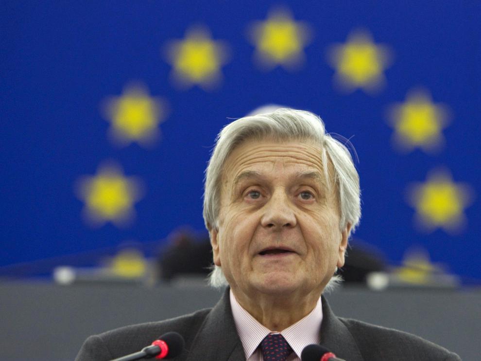 El presidente del Banco Central Europeo , Jean-Claude Trichet