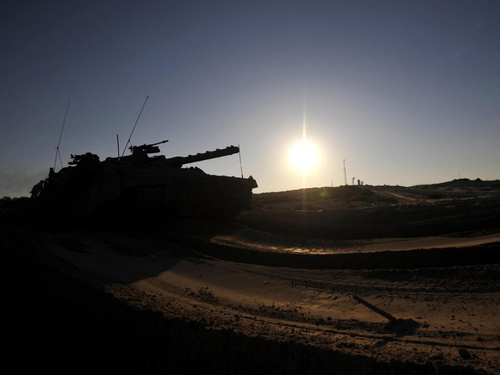 Las tropas israelíes avanzan en Gaza