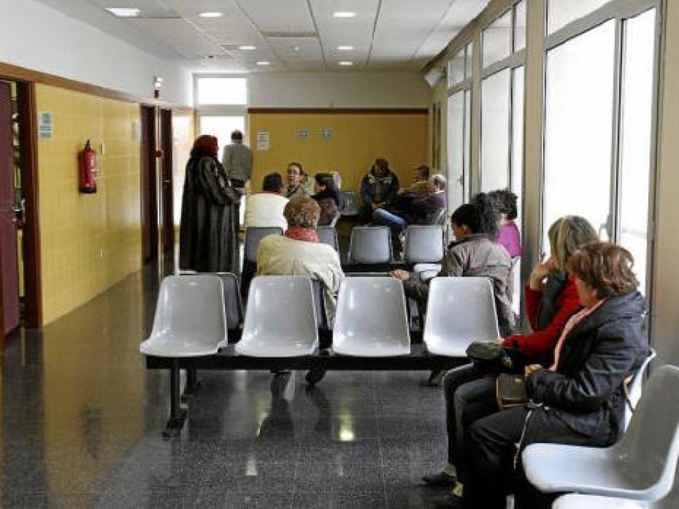 Imagen de un centro de salud oscense, la provincia que más casos registra actualmente