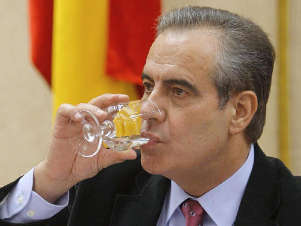 El ministro de Trabajo, Celestino Corbacho