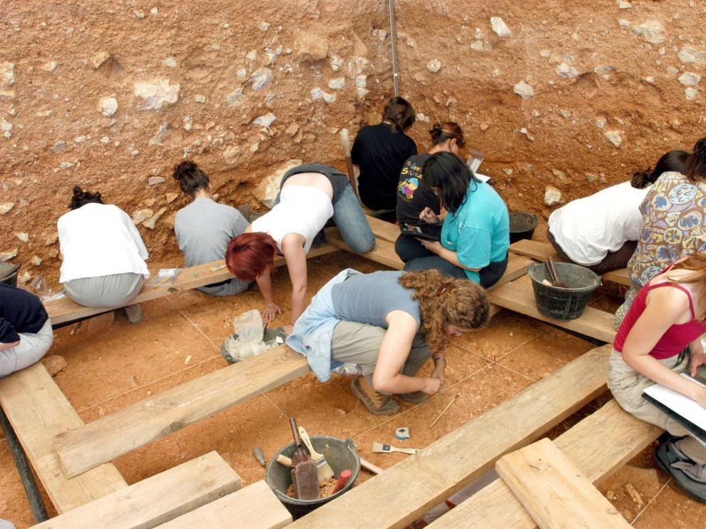 Yacimiento de Atapuerca, en una imagen de archivo