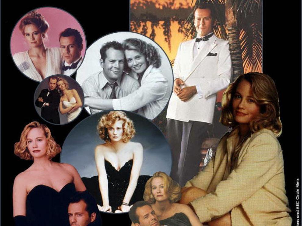 Imágenes del la serie y sus protagonistas