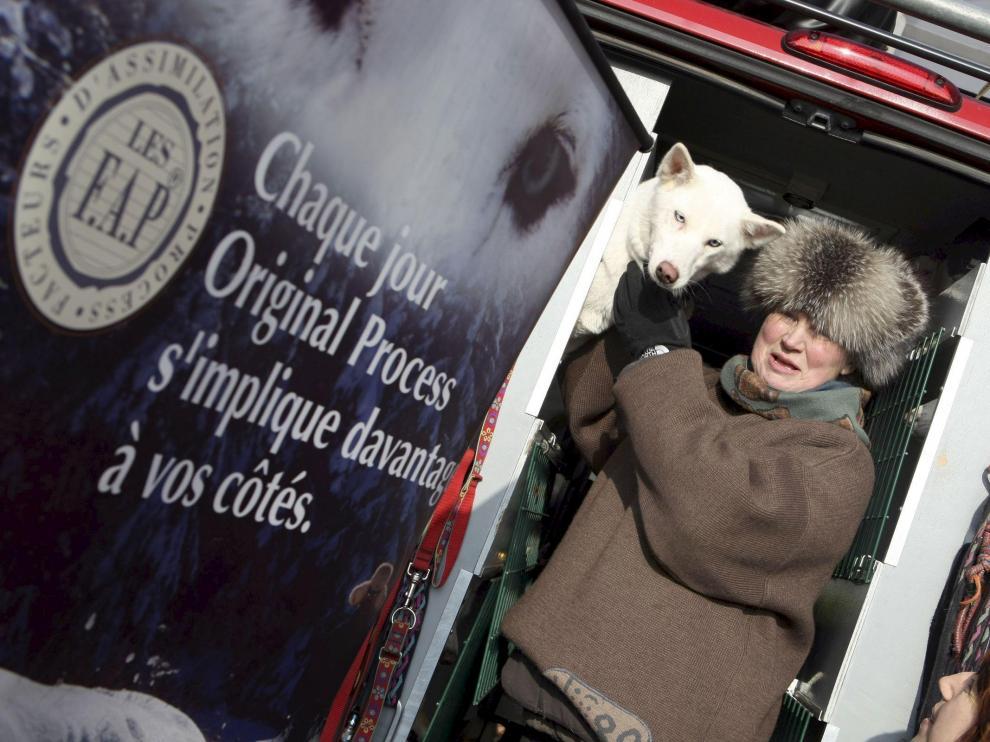 Este sábado se hicieron los controles veterinarios a los perros