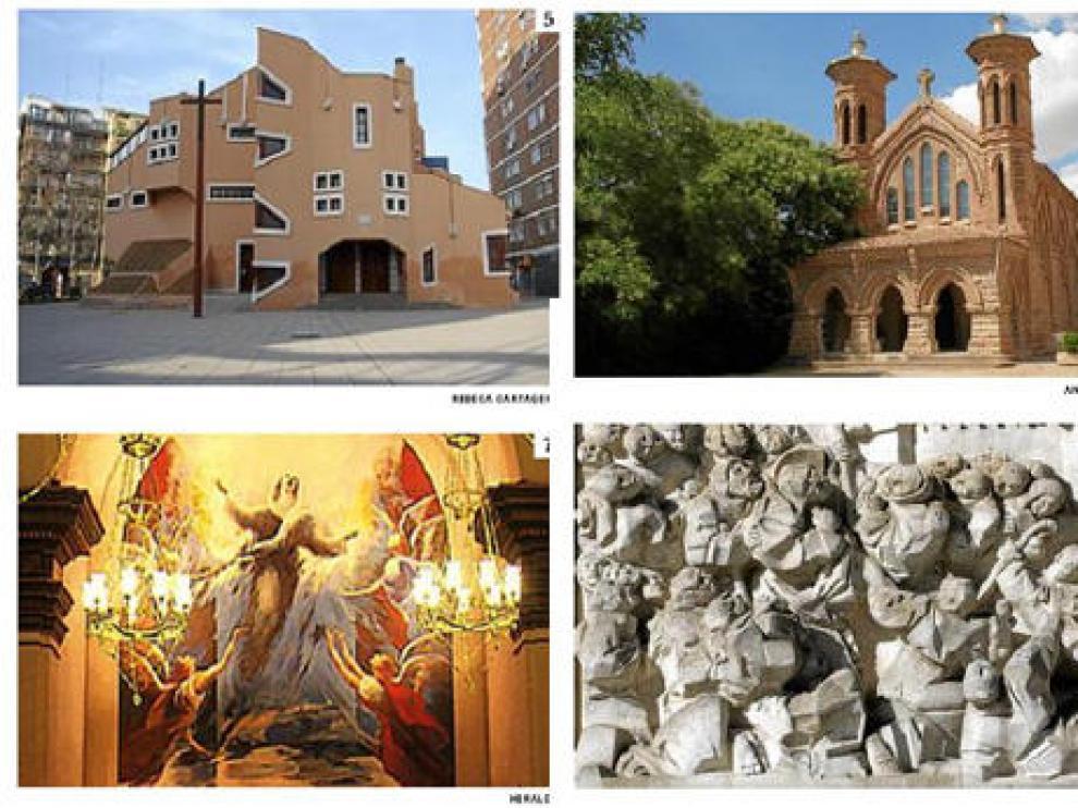 Algunos ejemplos del arte religioso contemporáneo aragonés