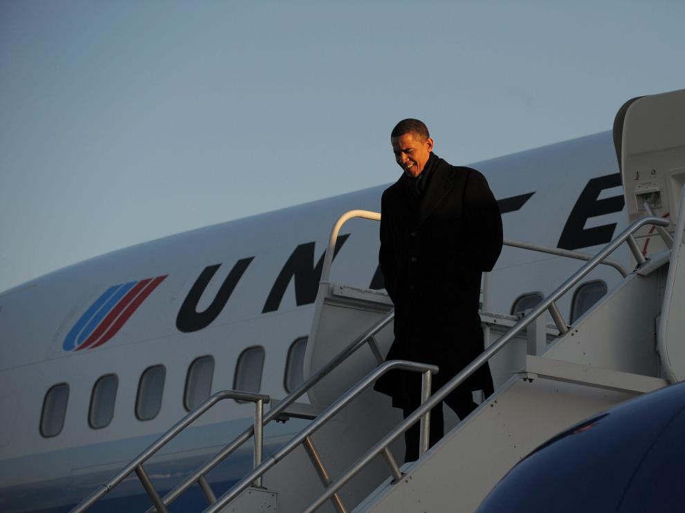 El presdente electo de EE.UU., Barck Obama