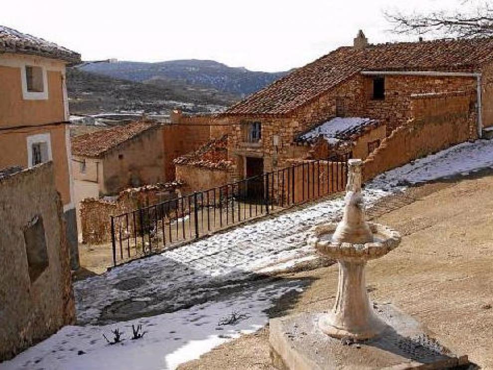 Aldehuela de Liestos, uno de los municipios más despoblados de Aragón.