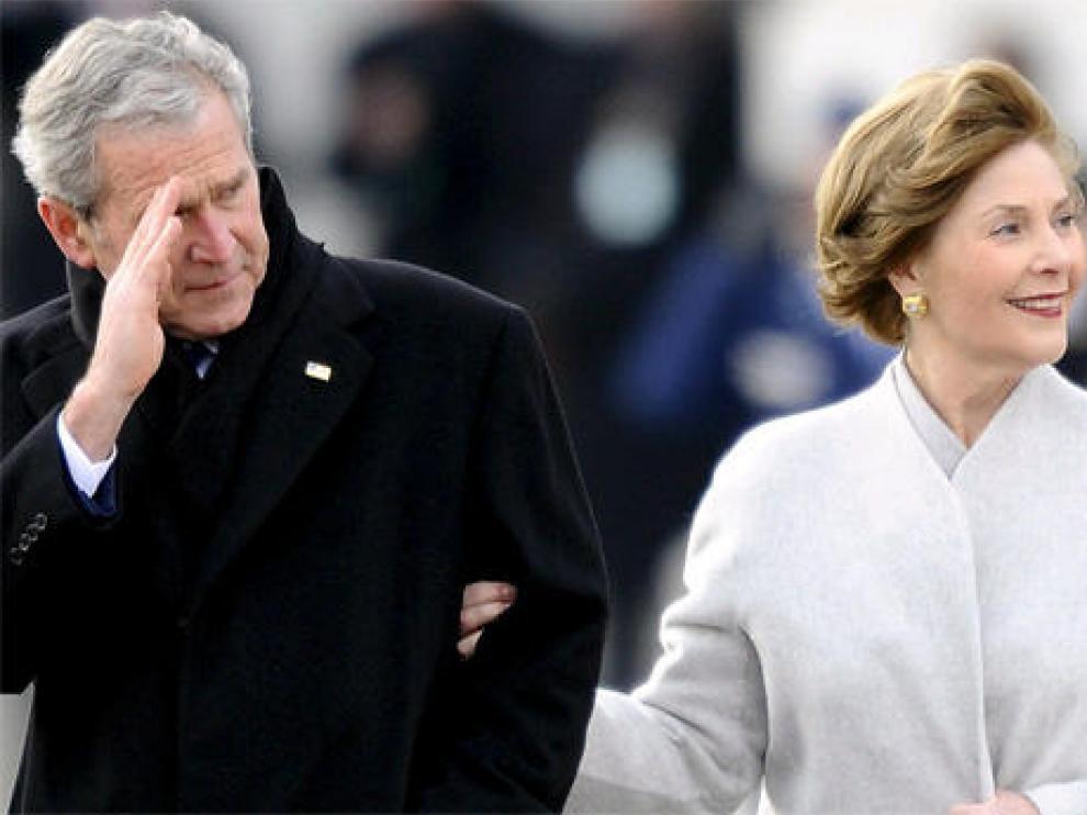 El amargo adiós de Bush