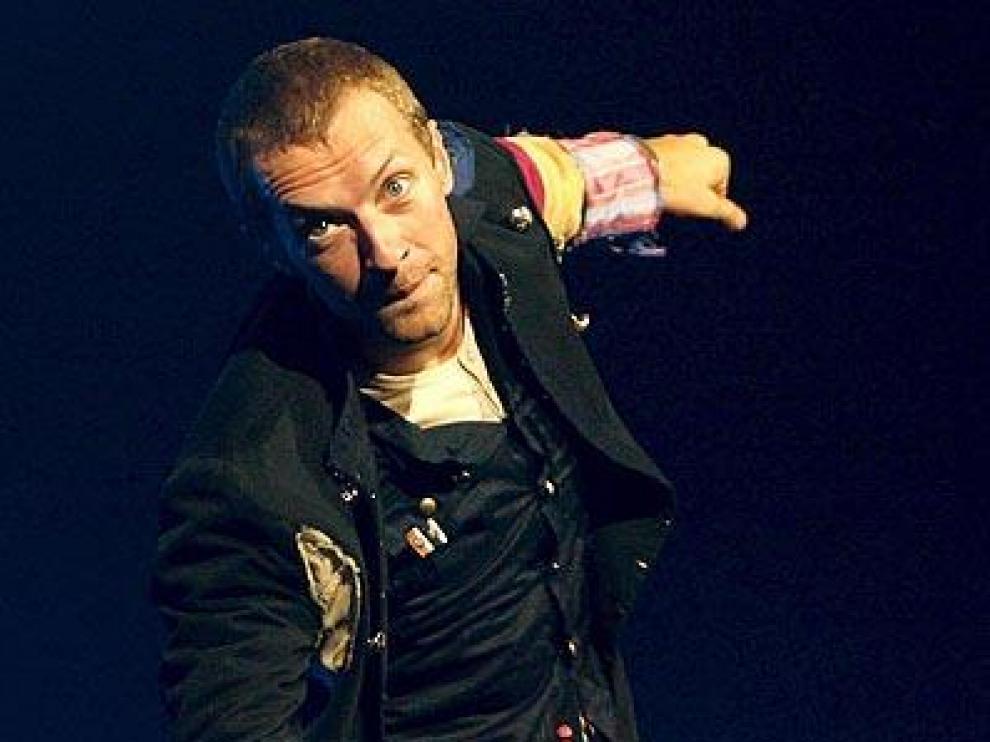 El líder de Coldplay, Chris Martin, en una imagen de archivo