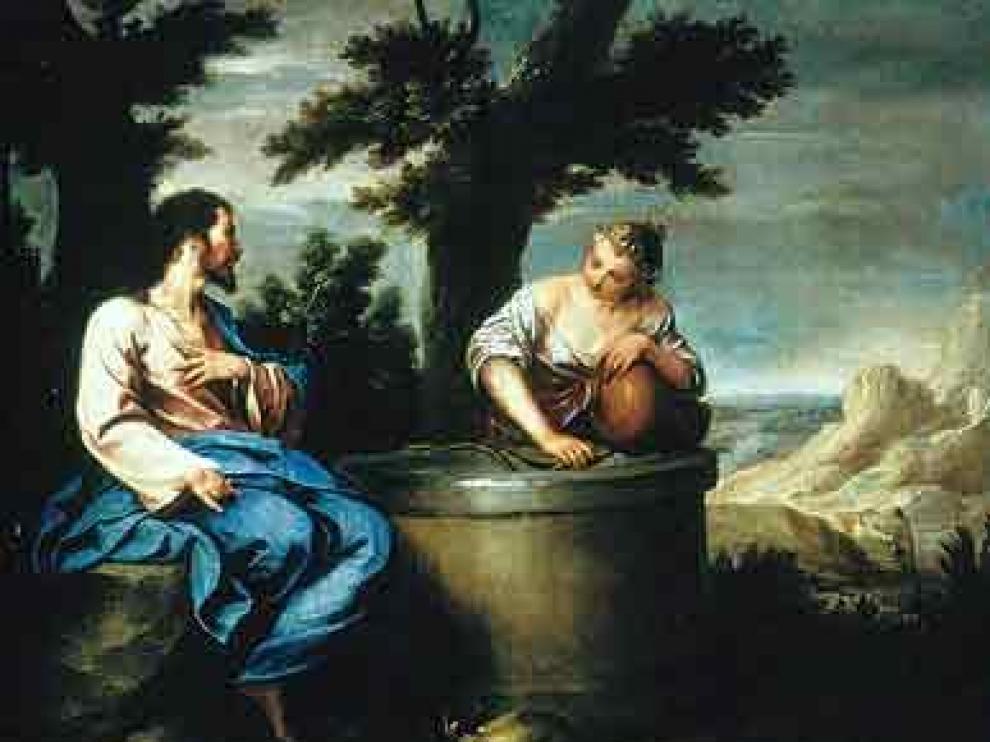 'Cristo y la samaritana', de Alonso Cano.
