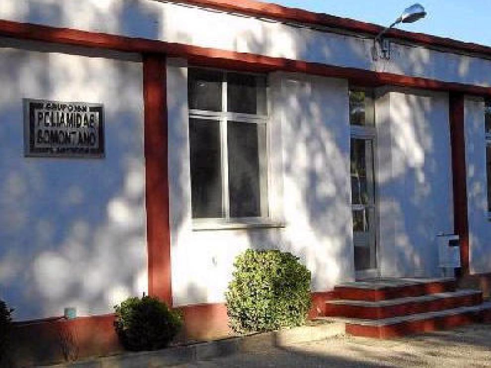 En la fotografía de archivo, instalaciones de Poliamidas del Somontano en Barbastro