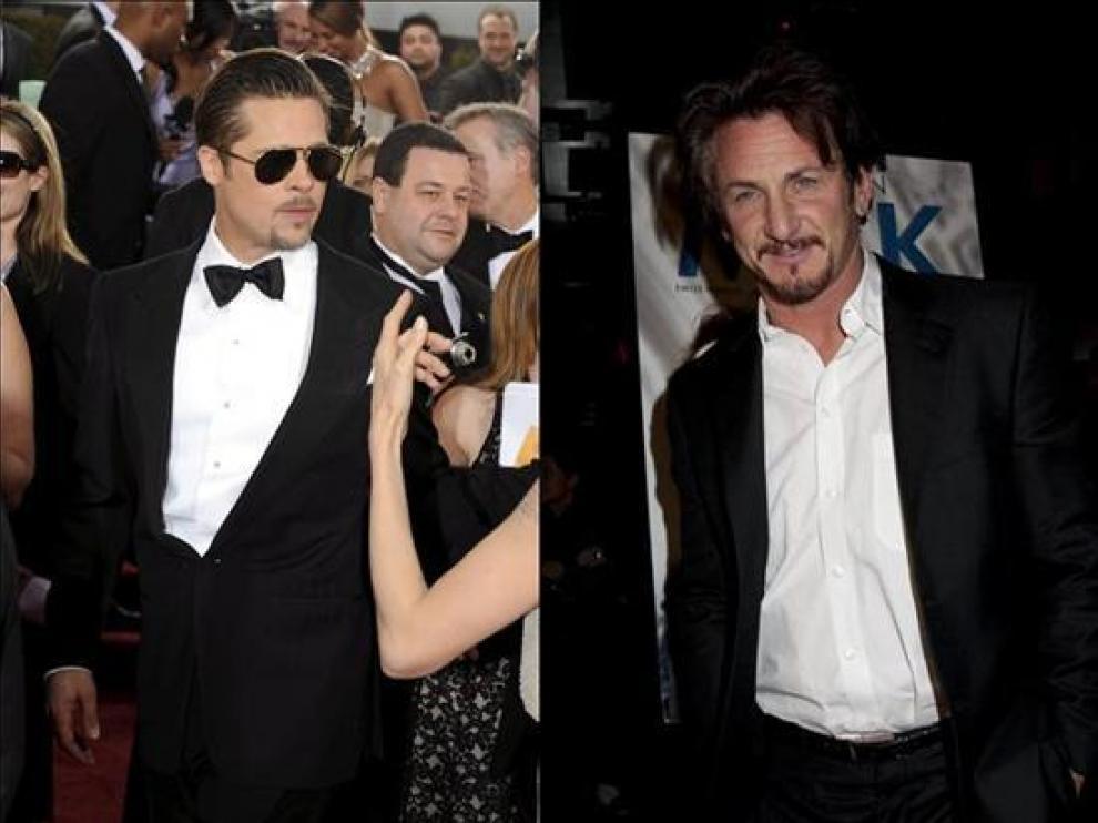 Brad Pitt y Sean Penn