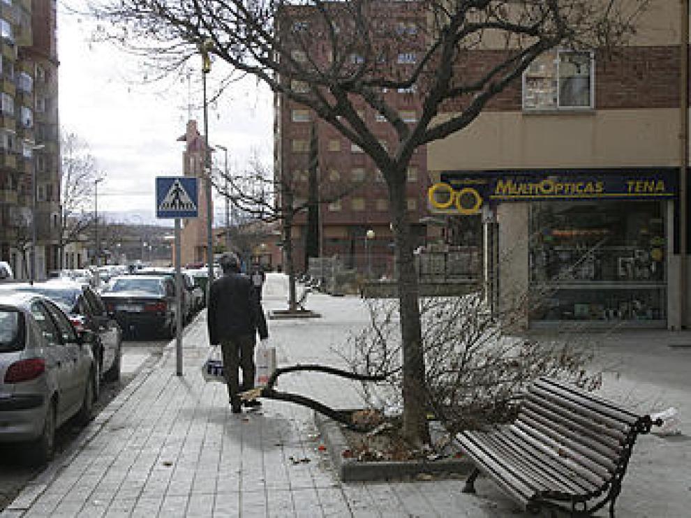 El temporal también se deja notar en Teruel