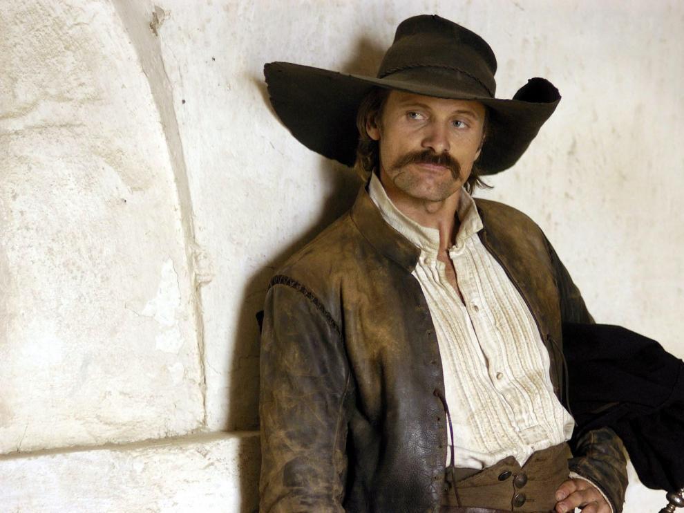Viggo Mortensen interpretó a Alatriste en una película de Agustín Díaz Yanes