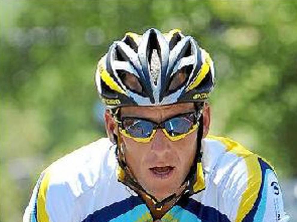 Lance Armstrong, en el Tour Down Under.