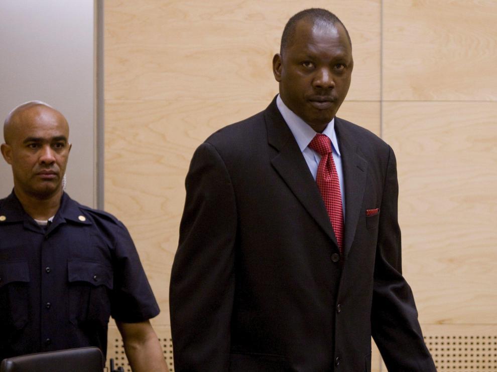 El líder rebelde Thomas Lubanga