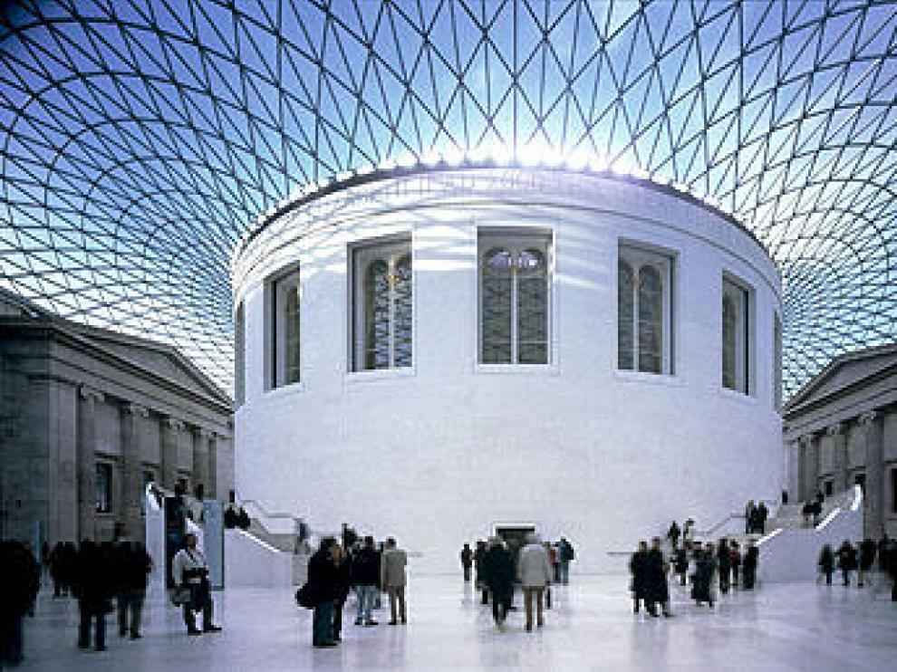 Patio central del 'British Museum'