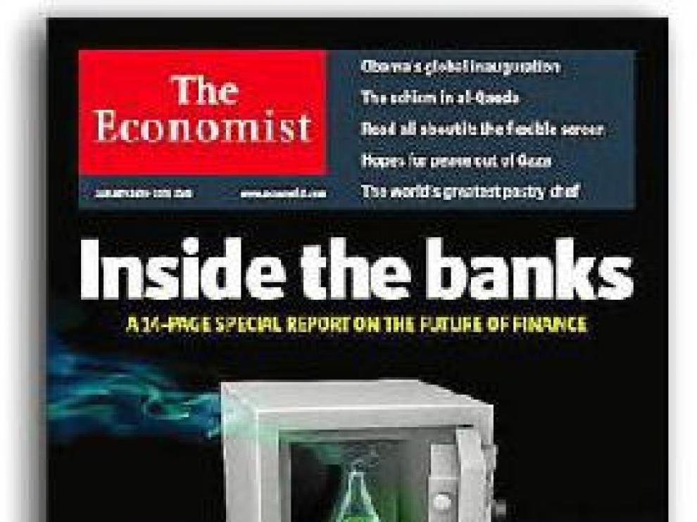 Portada del último número de la revista 'The Economist'