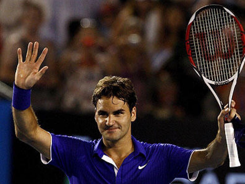 Federer jugó como un número 1