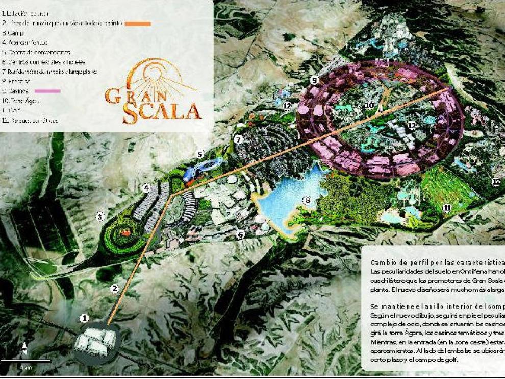 Gran Scala intenta salvar su proyecto con una señal de 225.000 € para los terrenos