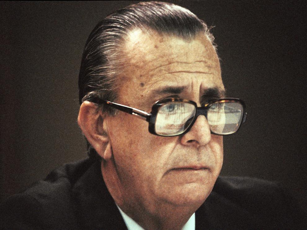 Pablo Porta, presidente de la Real Federación Española de Fútbol entre 1975 y 1984,