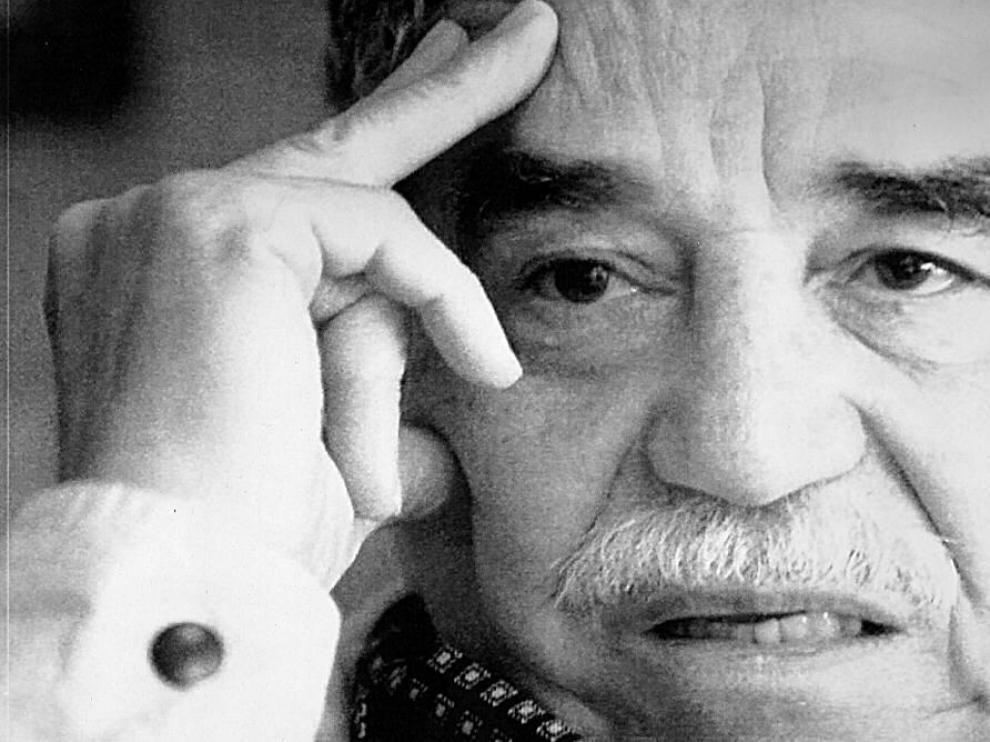 Foto de archivo de Gabriel García Márquez