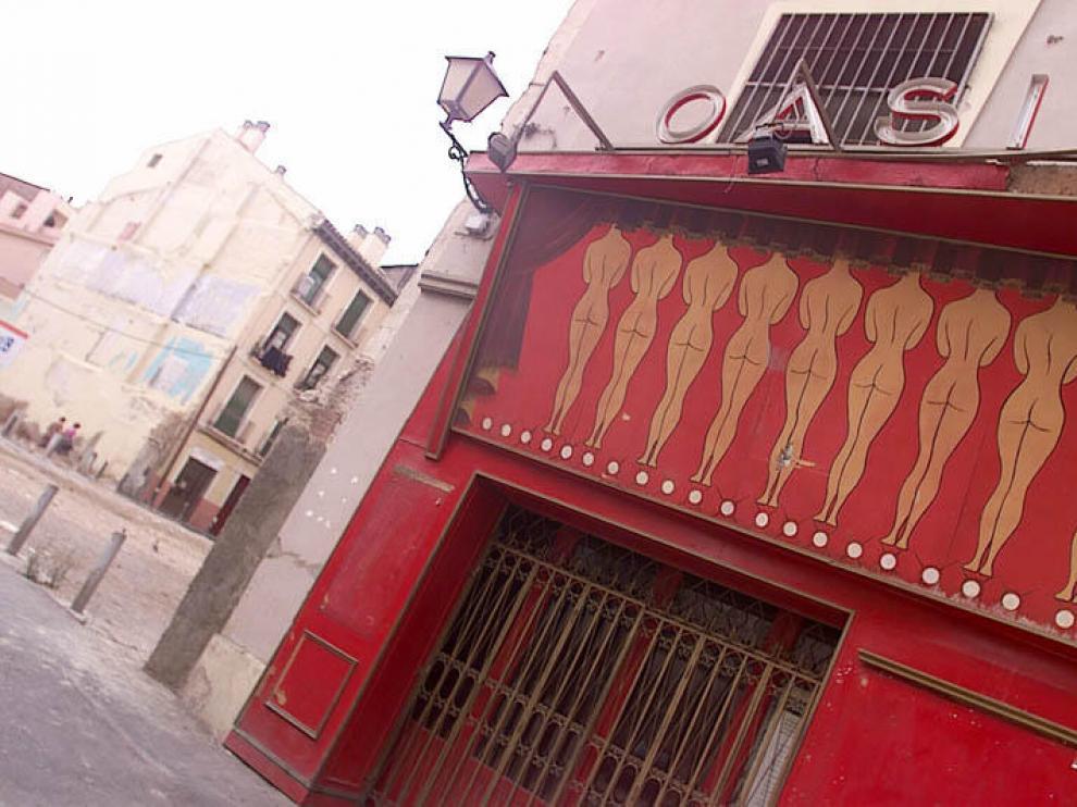 La sala Oasis de Zaragoza