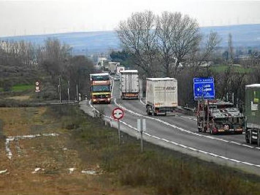 Conseguir el desdoblamiento de la N-232, uno de los retos de Aragón para 2014