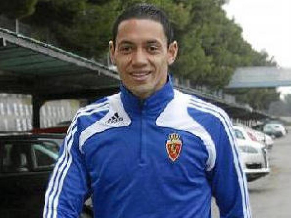 Oliveira, en su etapa como zaragocista.