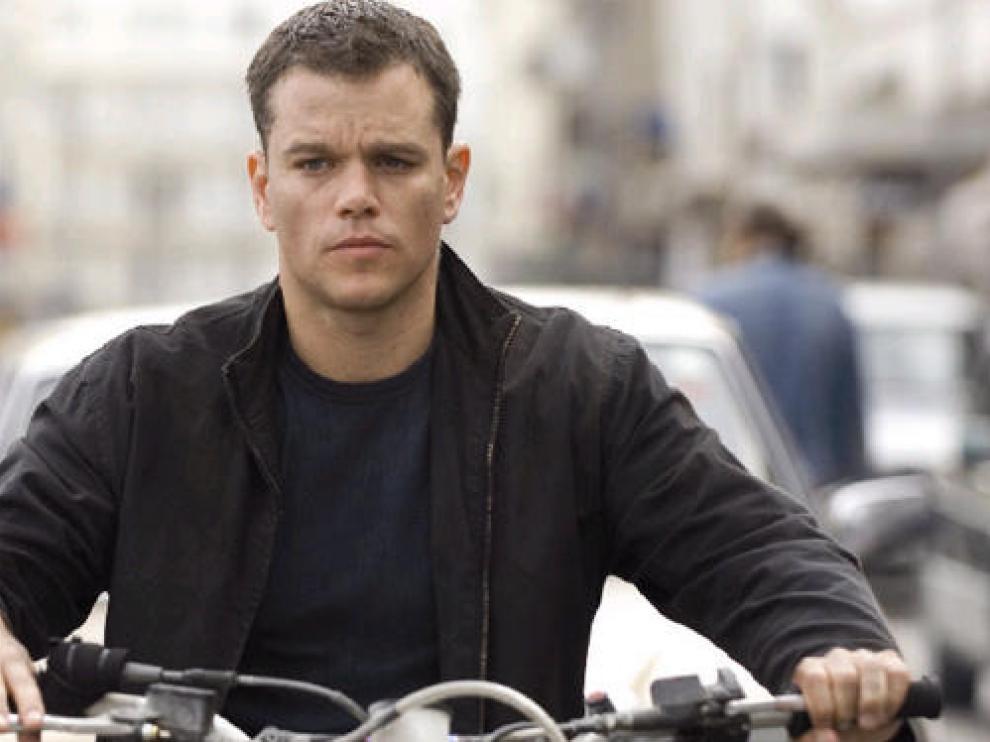 Damon interpreta a Bourne