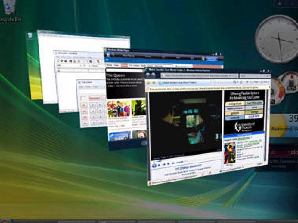Imagen del sistema operativo Windows Vista