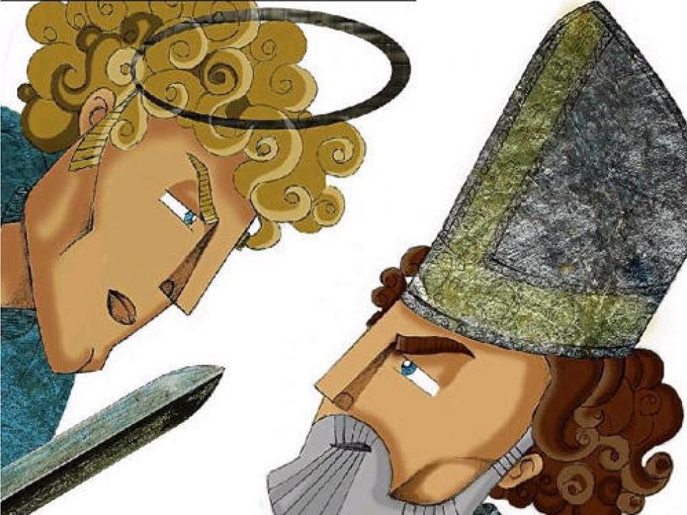 El Ángel y San Valero