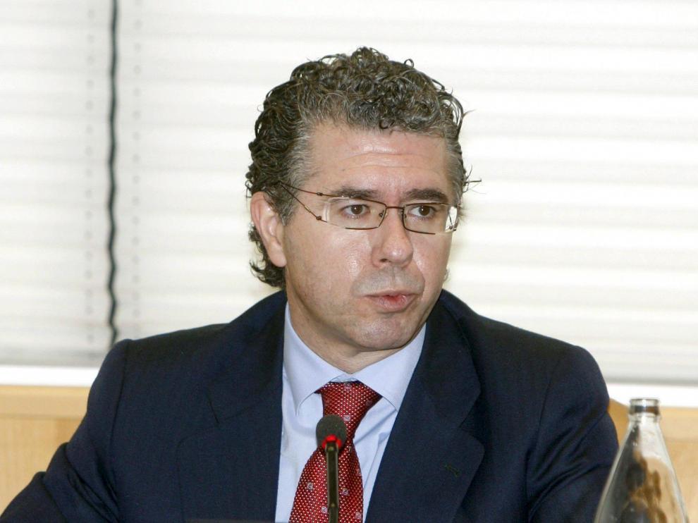 El consejero de Presidencia, Justicia e Interior de Madrid, Francisco Granados