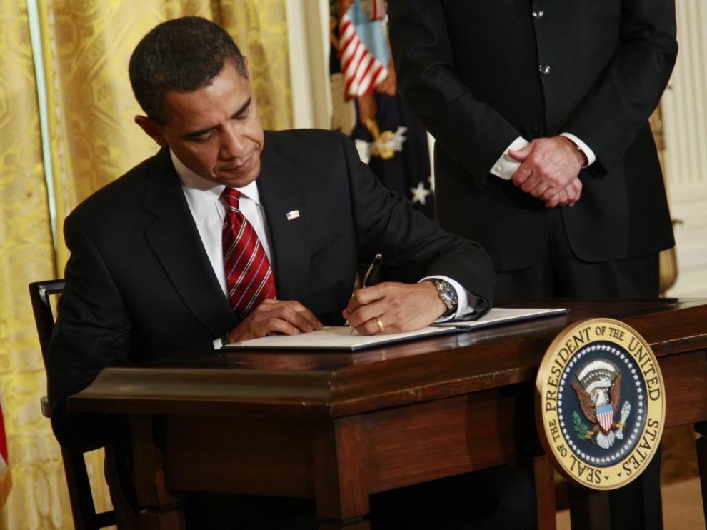 El presidente de EE.UU. Barck Obama