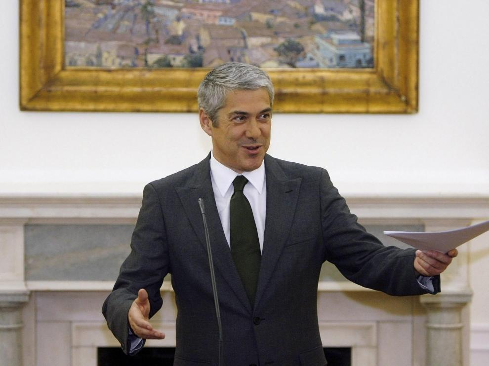 El primer ministro portugués, José Sócrates