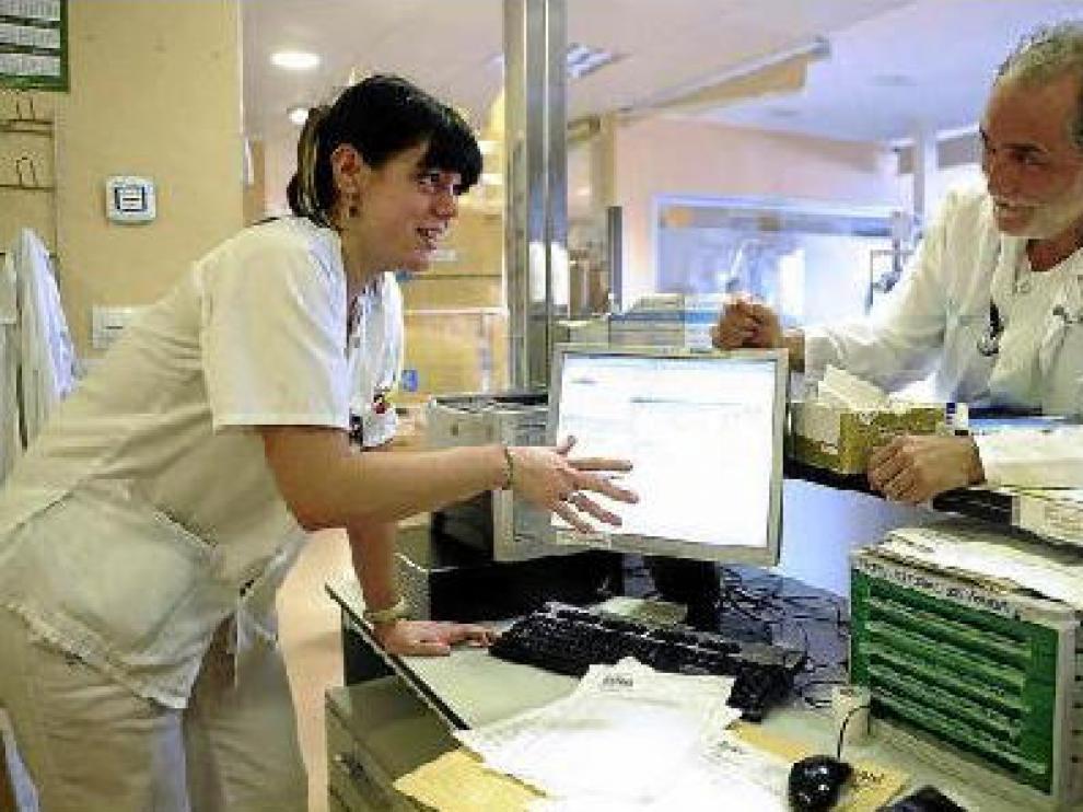 Los trabajadores de Urgencias utilizan ya el nuevo sistema todas las mañanas.