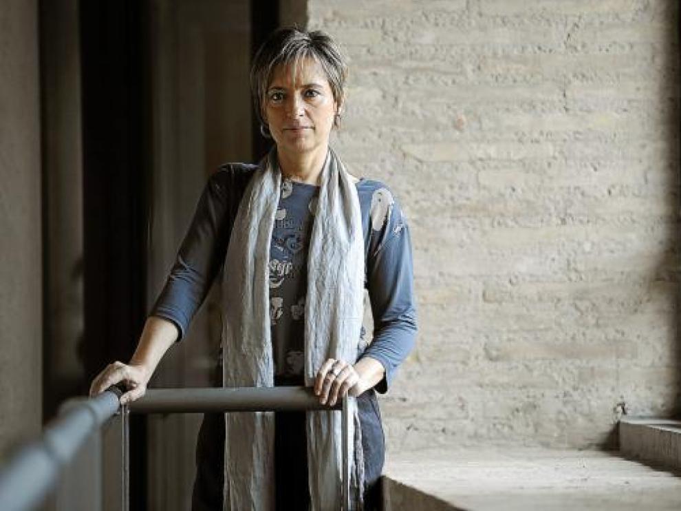 La presidenta de Chunta Aragonesista, Nieves Ibeas