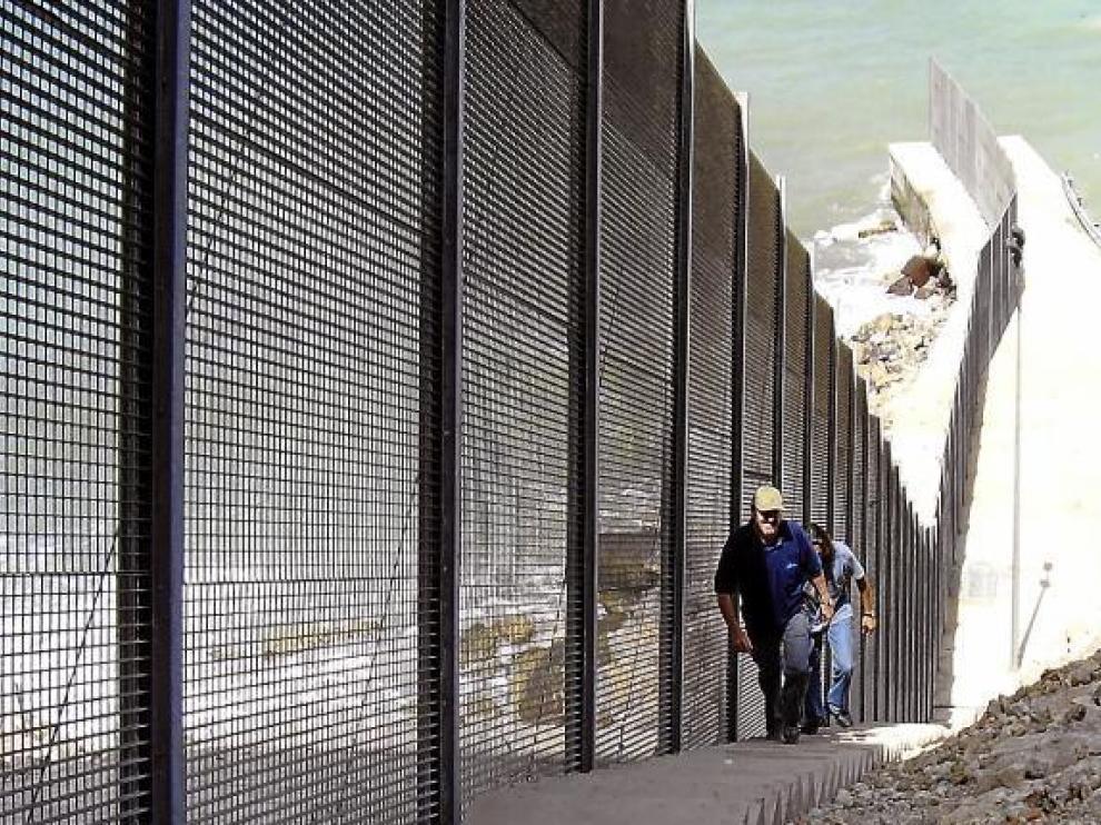 La valla de Melilla empieza en Binéfar