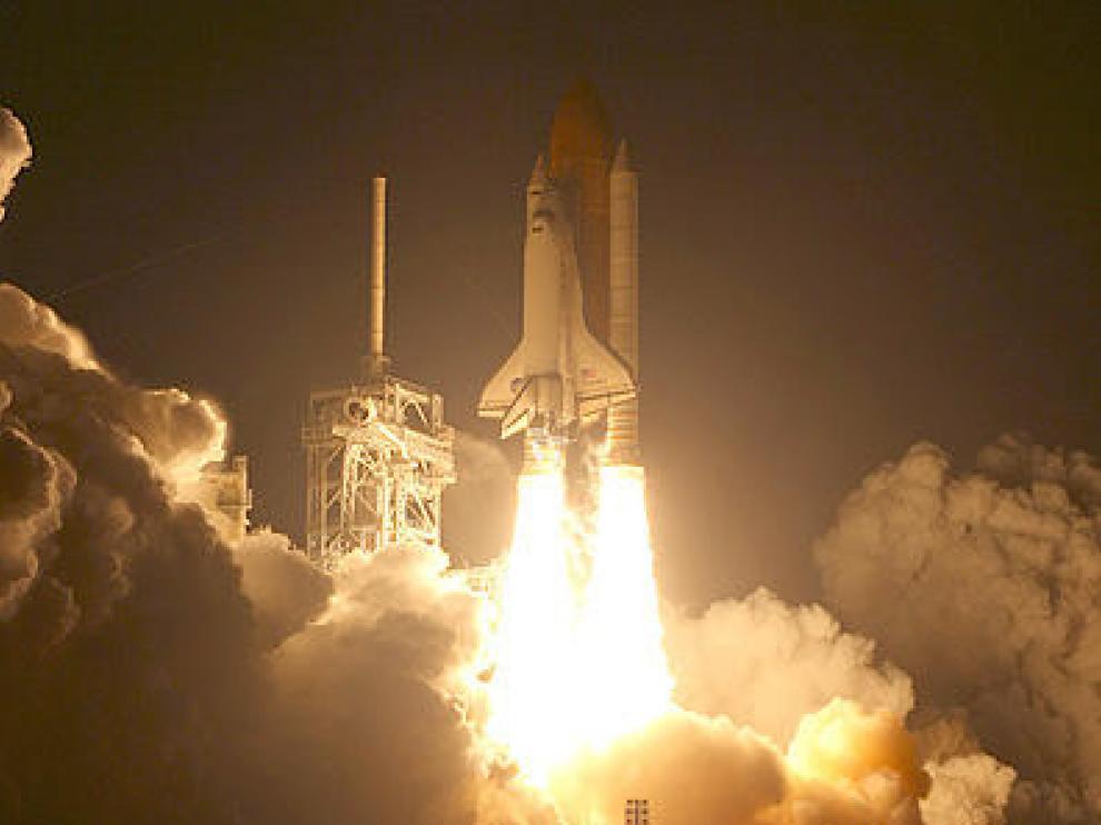 Foto de archivo del lanzamiento del 'Discovery'