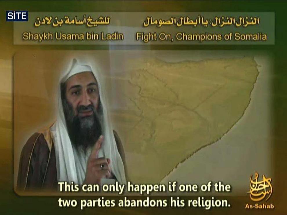 Una imagen de Bin Laden