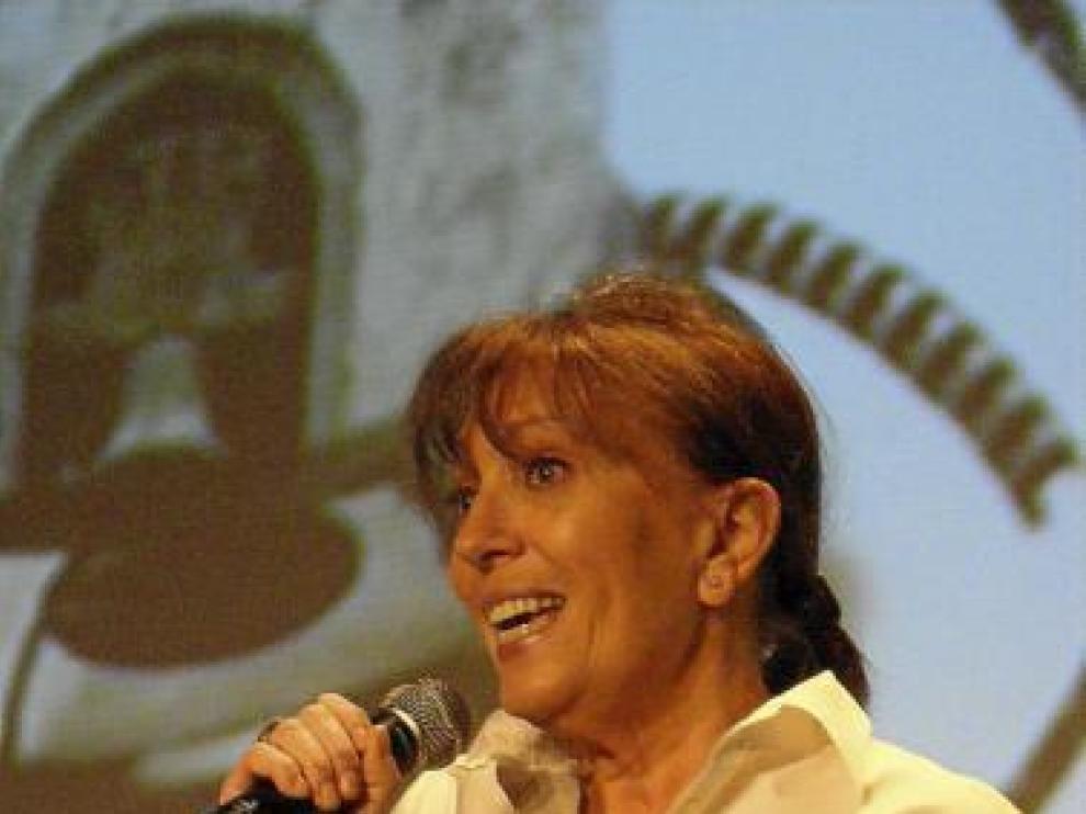 La actriz Mercedes Sampietro en una imagen de archivo.