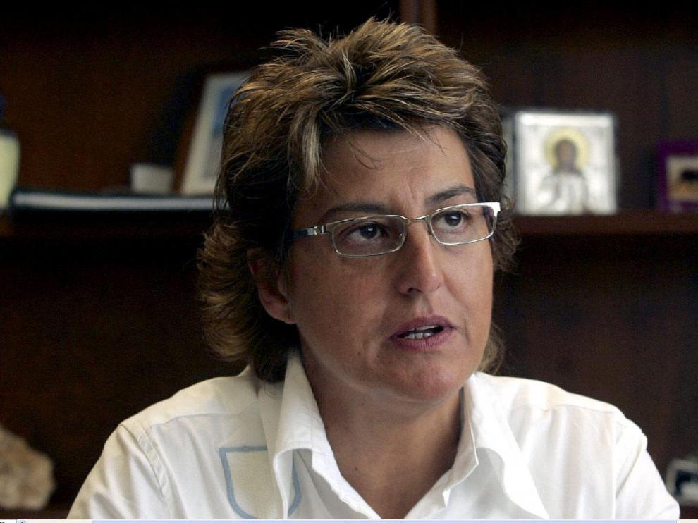 María Victoria Pinilla en una imagen de archivo