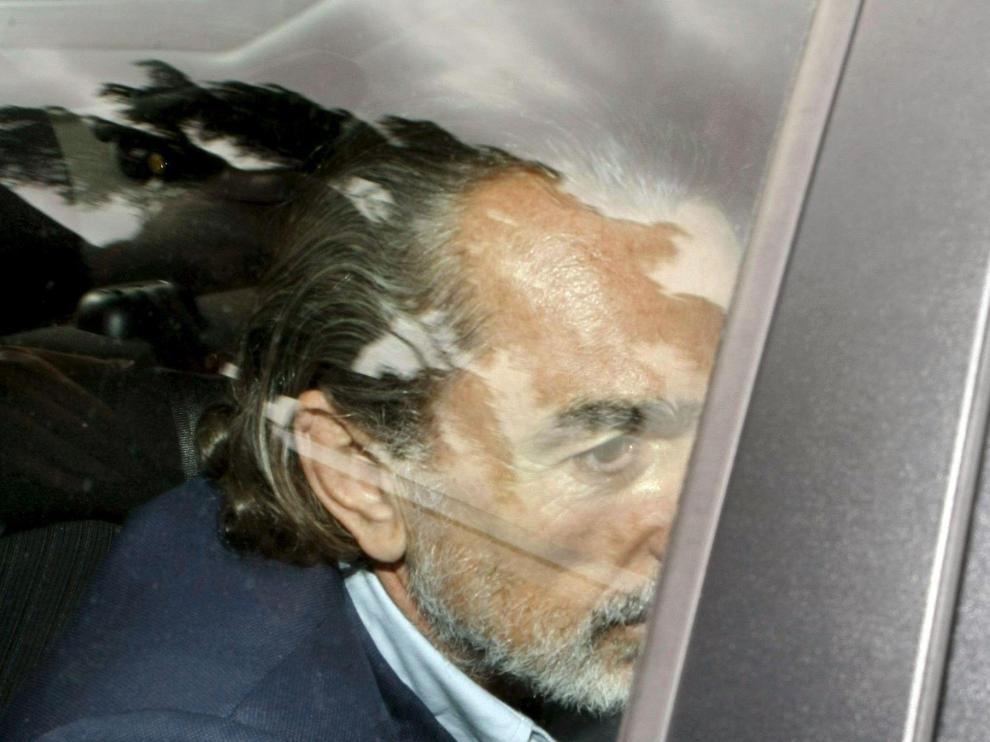 Francisco Correa, a su llegada al juzgado