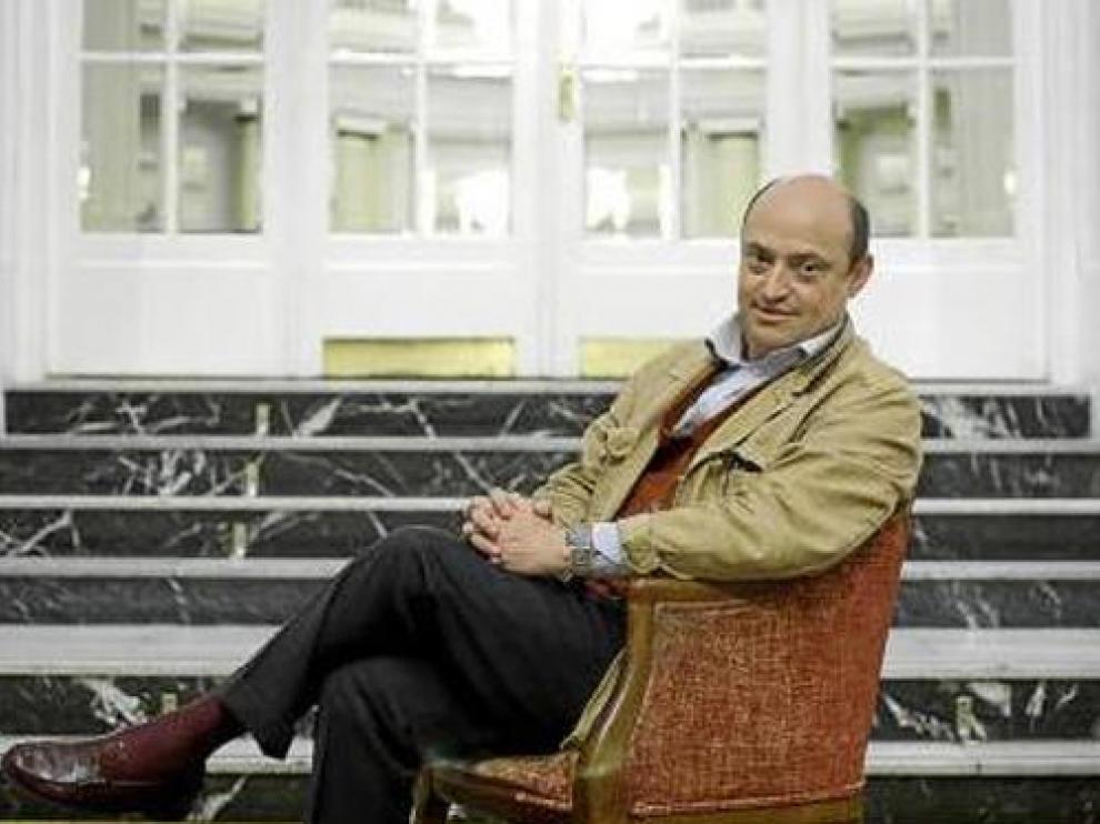 El escritor y periodista Eric Frattini